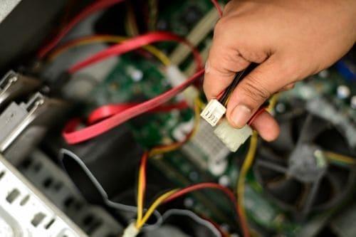Câblage électrique pour entreprise