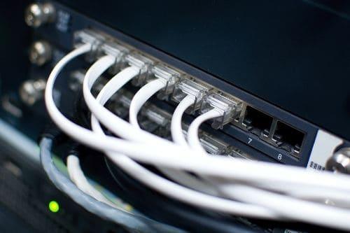 Câblage téléphonique industriel